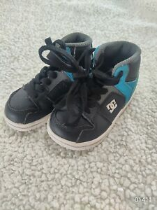 Boys DC Lace Up Shoes Size 6 Toddlers Cute Skater Shoes