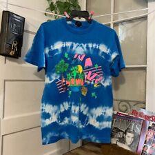 New listing Vintage tye dye Surf tee shirt
