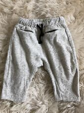 New Zara Baby Boy Lounge Drawstring  Wooly Pants Size 3-6 Months
