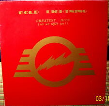 BOLD LIGHTNING  Greatest Hits (are we there yet? /  ORIG 1979 US LP SEALED Mint!