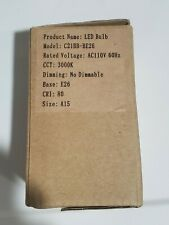 Sansi Loftek LED Bulb C21BB-BE26 3000k  Not Dimmable E26 Size A15 110V ..