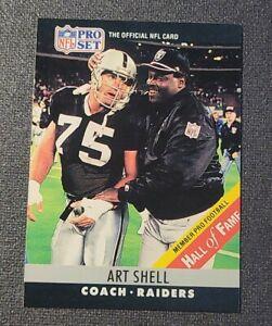1990 Pro Set #161B Art Shell CO COR/(Born 11/26/46;large HOF print on front)