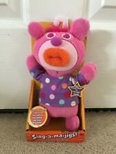 Mattel New The Sing-A-Ma-Jigs- Pink New In Package