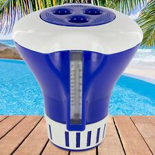 Dosierschwimmer mit Thermometer Pool Schwimmbad Chlor Chlordosierer 20g 200g