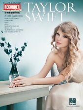 Taylor Swift Recorder Songbook Recorder Book NEW 000110275