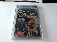 GIANT SIZE WEREWOLF BY NIGHT 3 CGC 9.0 WHITE PAGES TRANSYLVANIA MARVEL COMICS