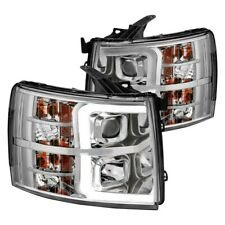 ANZO Projector Plank Style Chrome Amber FITS 2007-2013 Chevy Silverado 111481