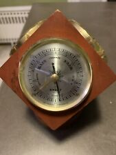 Vintage Swift Instruments Barometer Humidity And Temperature Cube