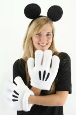 Walt Disney's Mickey Mouse Ears and Gloves Licensed Costume Accessory NEW SEALED