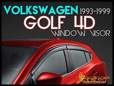 USA 93-99 VW Golf GTi 4D Smoke Window Visor Shade/Vent Wind/Rain/Sun Deflector