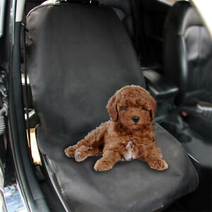 Waterproof Car SUV Front Bucket Single Seat Protector Dogs Cats Cover Mat