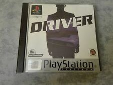 DRIVER 1 - SONY PS1 PS2 PS3 PSX PLAYSTATION 1 2 3 ONE PAL ITA ITALIANO COMPLETO