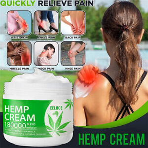 Hemp Cream for Pain Relief EXTRA STRONG CREAM Arthritis & Back Pain Support NEW#
