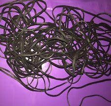"50 EPDM X-Treme Black Rubber Bands - UV & Ozone Resistant-117B  7"" x 1/8"""