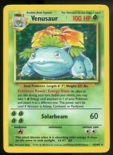 1999 Pokemon Base Set Holofoil Rare 15/102 VENUSAUR
