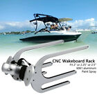 Wakeboard Tower Rack CNC Surfboard Kneeboard Combo Water Board Holder Silver US