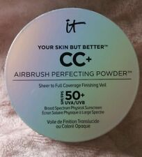 "It Cosmetics CC+ airbrush Perfecting powder ""DEEP"".SPF50+. SEE DESCRIPTION"
