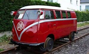 OO9 VW DB Inspection railcar kit - suitable for a trimmed KATO 109 chassis - 009