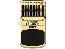 Behringer Eq700 Equalizzatore Grafico a Pedale per Chitarra