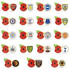 Premier League 2021 Poppy Football Pins   Royal British Legion   2021/22 EPL