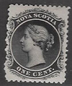 Canada, Nova Scotia 1860 One Cent, Sc #8, v/VF- MNH, CV $25.00++ (dw978b)