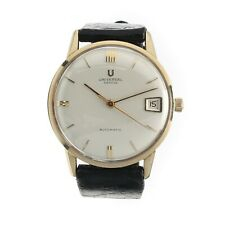 Universal Geneve Microtor Automatic Calibre 218-2 Excellent Condition 14KGF 33mm