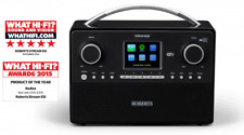 Roberts  STREAM93I DAB/DAB+/FM Wi-Fi Internet Radio with media streaming BLACK