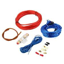 Car Audio Amplifier Installation Wiring Wire RCA Power Cable Complete Set