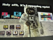 Mtv other music channels Holy s#!t Happening Again 2-piece 1997 Promo Poster Ad