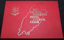 More details for 1980 | isle of man diamond finish decimal coins | coin sets | km coins