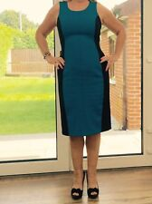 Ladies Next Blue/Black Knee Length Dress Size 12