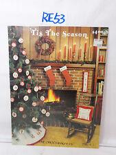 NEEDLEPOINT CROSS STITCH MAGAZINE BOOK PATTERNS TIS THE SEASON CHRISTMAS GRIGG 1