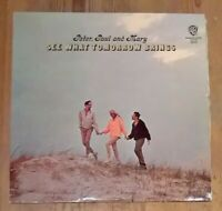 Peter, Paul And Mary See What Tomorrow Brings Vinyl LP Repress Mono Gold Label