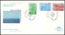 Netherlands 1989 Sailing Vessels FDC First Day Cover #C20248