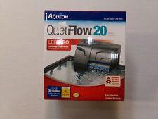 Aqueon Black Aqueon Quietflow 20 Filter 20-30gal / 125gph - NEW & SEALED