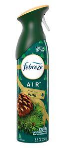 Febreze Limited Edition Air Fresh Cut Pine Air Freshener Spray 8.8 oz