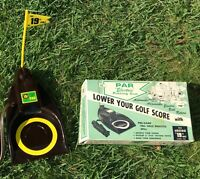 Vintage Par Electric Putting Cup 19th Hole Golf Practice + Box #1901 . Works