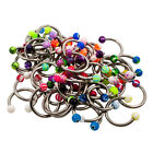 MIX Wholesale LOT 50 14g Circular Barbell Body Jewelry