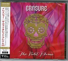Sealed! ERASURE The Violet Flame JAPAN CD w/OBI+BONUS TRACK TRCP-171 Free S&H/PP