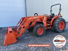 2019 KUBOTA MX4800 TRACTOR W/ LOADER, 4X4, 2 REAR REMOTES, HYDRO, 49 HP, 112 HRS