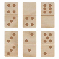 Wooden Flourishes DOMINOS scrapbooking crafts MIXED MEDIA ALTERED ART