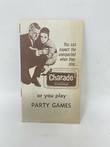Charade Cary Grant Audrey Hepburn Walter Mathhau James Coburn Movie Ad Promo