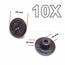 10x for BMW Plastic Unthreaded Nylon Nuts Nut Mounting Clips
