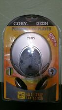 Coby CX-CD314 Slim Personal CD Player with 60-second anti-skip protection