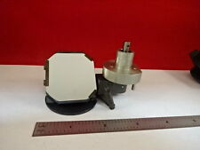 MICROSCOPE PART ZETOPAN REICHERT AUSTRIA MIRROR ASSEMBLY OPTICS AS IS #T8-54