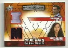 Captain America Civil War Broken Bonds Dual Team Iron Man Relic BBI-TW