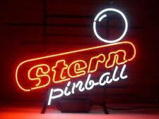"New Stern Pinball Game Neon Light Sign 17""x14"" Wall Decor Man Cave Bar Beer"