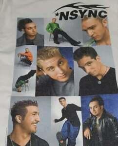 VINTAGE 1999-2000 NSYNC CONCERT T-SHIRT WINTERLAND - WINTER TOUR SHOWS ~ RARE