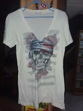 Women's Size Large V-Neck T-Shirt Save On Shipping