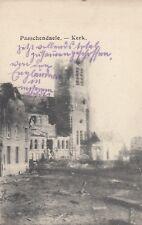 Passendale Paeschendaele Zonnebeke AK WW I Kirche Kerk Belgien Belgique 1808138